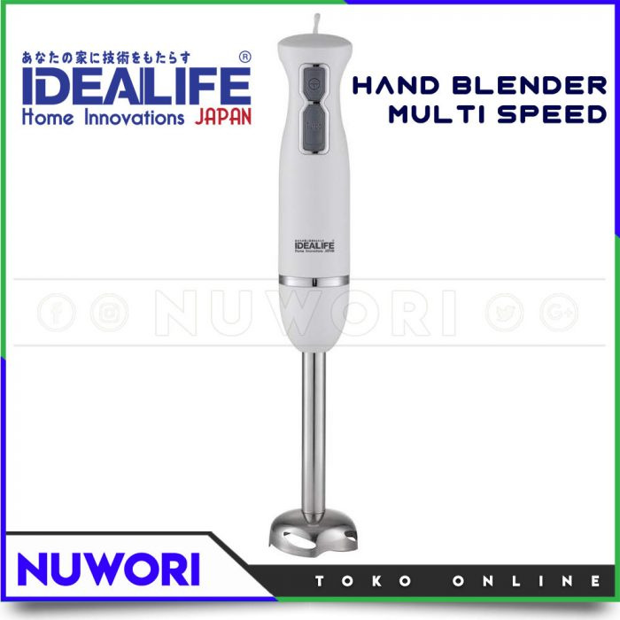 Hand Blender IDEALIFE IL-215 Multi Speed